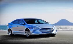 В Сети представлены  первые снимки  Hyundai Elantra новой генерации