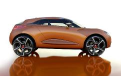 Концептуальный экстравагантный кроссовер Renault Captur может стать серийной моделью