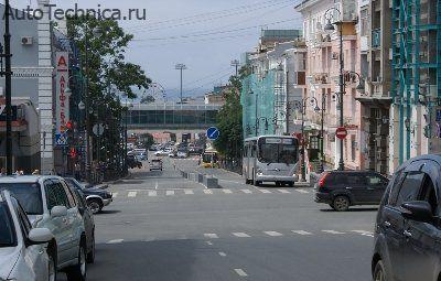 ...ГИБДД по Приморскому краю осталось недовольно новой схемой движения в центральной части Владивостока.