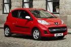 Peugeot выпустил новую версию 107 модели