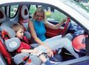ГАИ начинает агитацию за детские автокресла