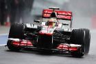 Дождевая тренировка – старт Гран-при Великобритании