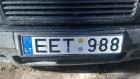 Законопроект о штрафах для владельцев автомобилей с иностранными номерами