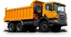 Новый самосвал Scania для «HOLCIM Россия»