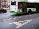 Камеры на автобусах будут фиксировать выезд на выделенки