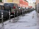 Москва: автомобилям запрещено заезжать на тротуар