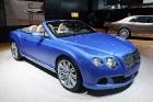 Производители показали новый автомобиль Bentley Continental GT в Детройте