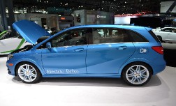 Новая модель 2014 года Mercedes Electric B-Class
