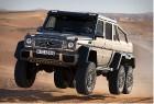 Mercedes-Benz представляет армейского шестиколесного монстра G 63 AMG 6x6