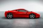 Автомобиль Ferrari 458 Italia получил систему энергосбережения